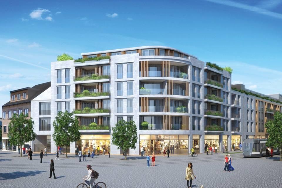 Evolution-interieurwinkel-Designmeubels-totaalinrichting-vastgoedstaging-quartier-blue-hasselt-appartement
