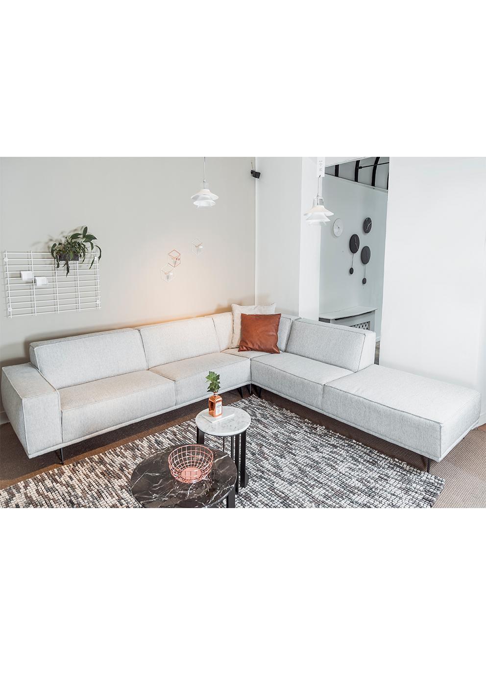 Evolution design meubelen argus sofa design hoekzetel for Design zetel