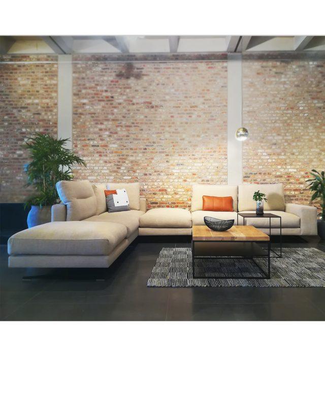 Design Zetel-Hoeksalon-Stof
