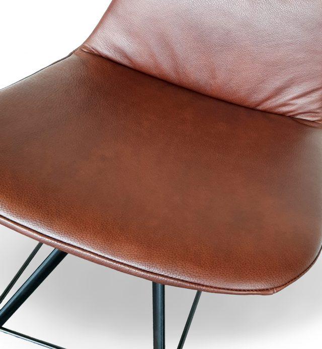 Vintage Velours Velvet Fauteuil Project Evolution Design Meubelen Stoel Krukken Grijs wit zwart moderne meubelen design hoekzetel leder salons loungezetel stof grijze stof
