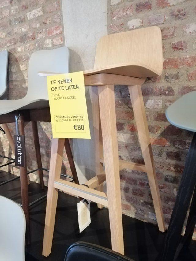Kuskoa kruk Evolution Toonzaalmodel solden design meubelen 2