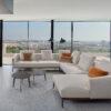 Design zetels Sofa Hoeksalon