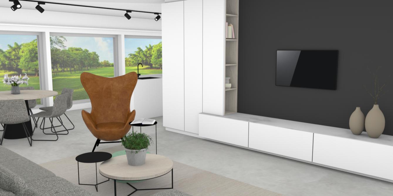 Project Evolution Design Totaalproject Renovatie Design Meubelen stoelen tafels Interieur architectuur interior design