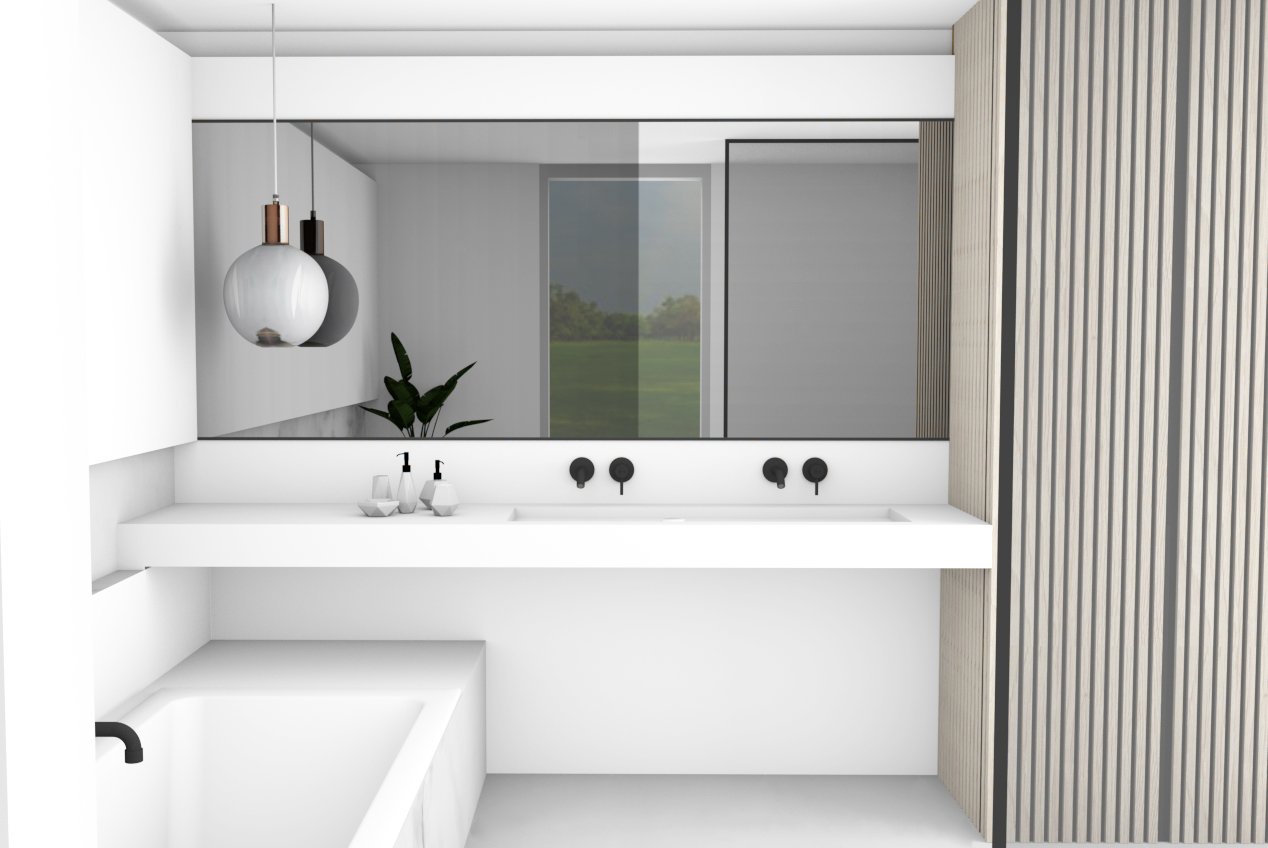 Evolution-interieur-hasselt-familie-d-badkamer-totaalinrichting-lavabo-spiegel-3D-visualisatie