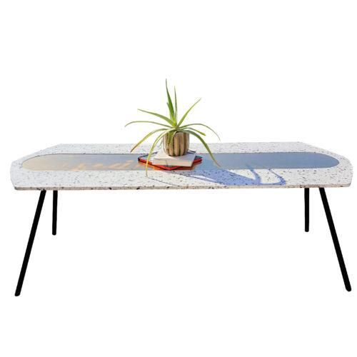 Evolution design meubelen limited edition terrazzo tafel